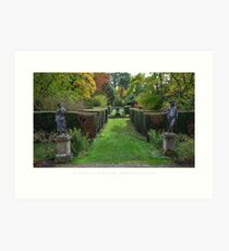 Spetchley Gardens, Worcestershire Art Print
