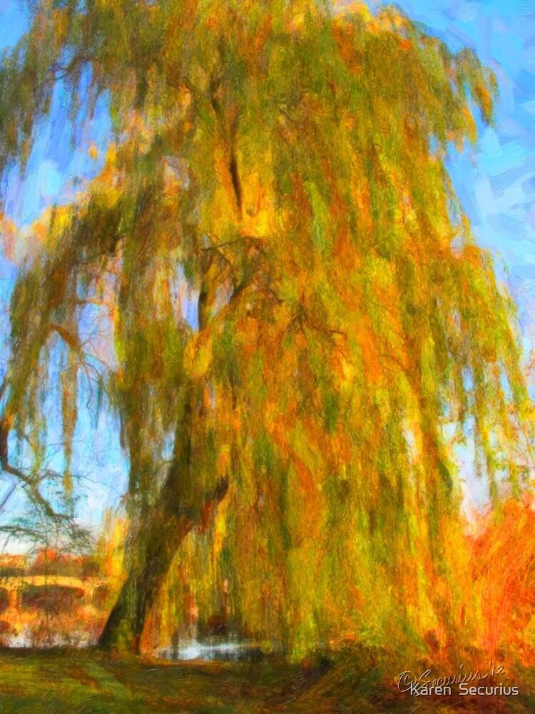 Alster Autumn oil02 by Karen  Securius
