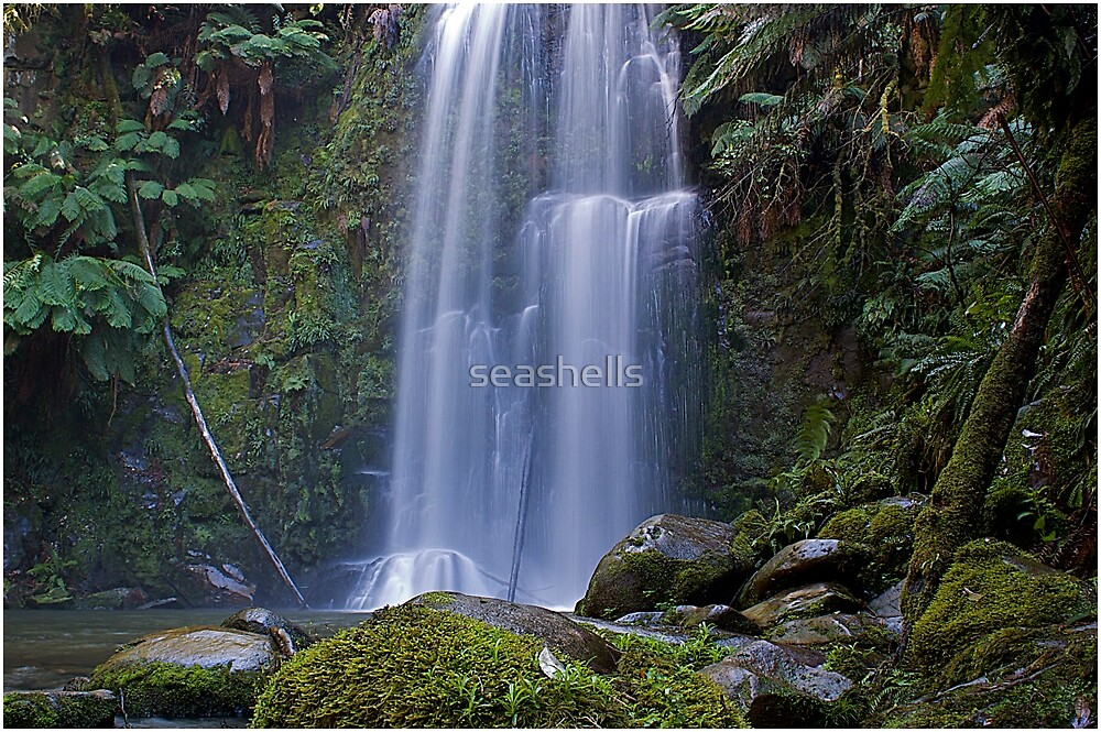 Peaceful Falls by seashells