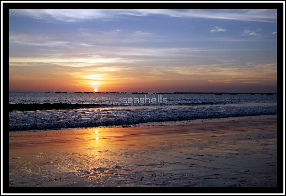 Sunset Dreaming by seashells