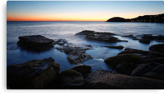Manly rocks - moment of reflection by Adriano Carrideo