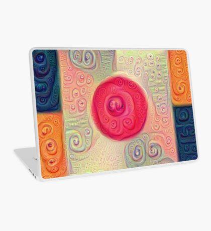 DeepDream Color Squares Visual Areas 5x5K v18 Laptop Skin
