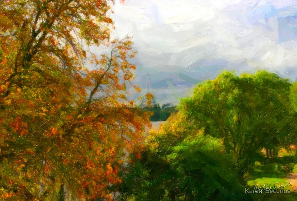 Alster Autumn oil04 by Karen  Securius