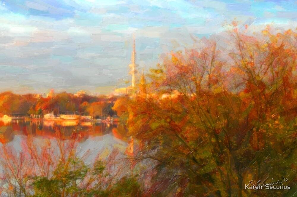 Alster Autumn oil05 by Karen  Securius