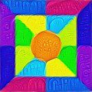 DeepDream Color Squares Visual Areas 5x5K v19 by blackhalt