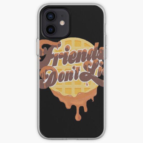 Friends don't lie Coque souple iPhone