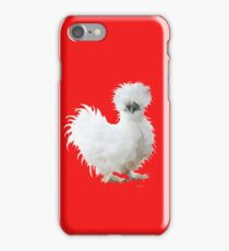 Silly Silkie Chicken iPhone Case/Skin
