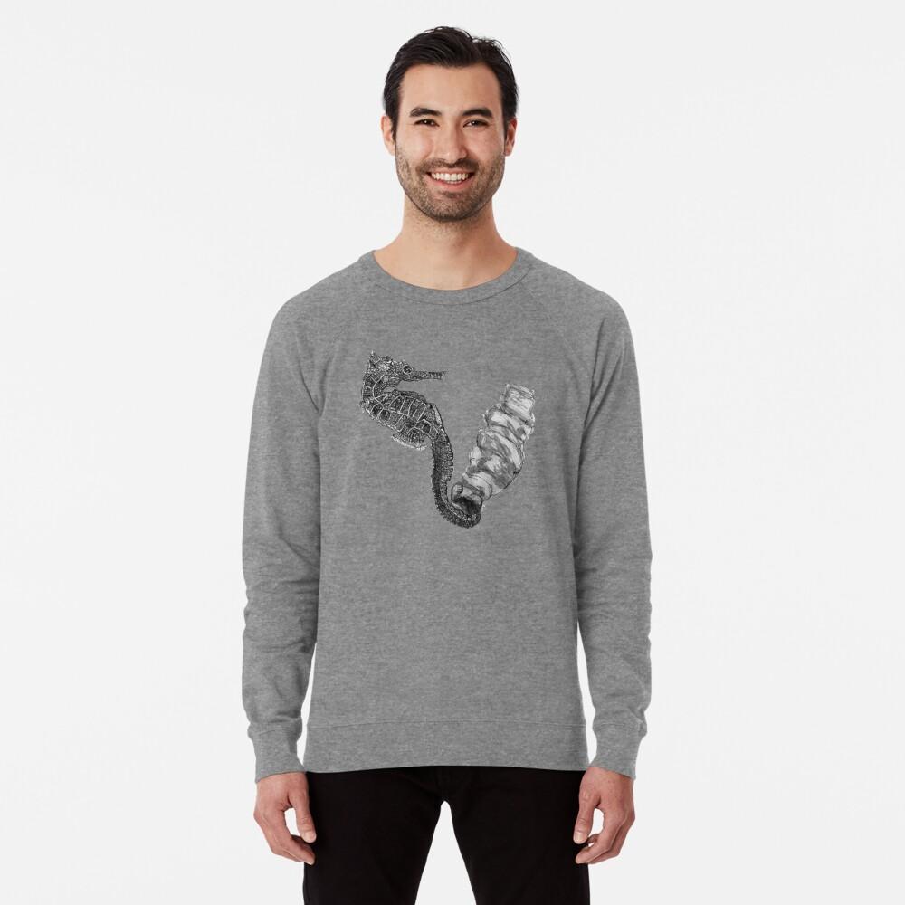 Sunday the Seahorse Lightweight Sweatshirt