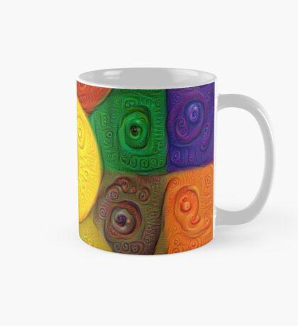 DeepDream Color Squares Visual Areas 5x5K v20 Mug