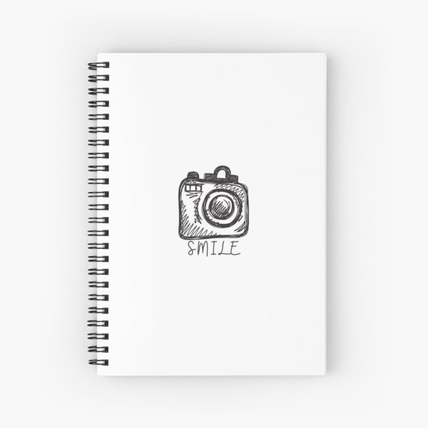 Smile at the Camera Spiral Notebook
