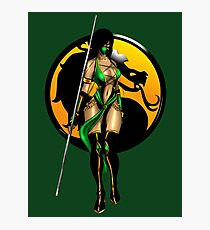 Mortal Kombat - Jade Photographic Print