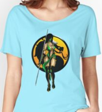 Mortal Kombat - Jade Women's Relaxed Fit T-Shirt