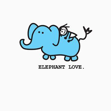 Elephant Love . Who Loves Elephants?  by mog2910