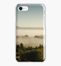 Morning Fog at Mudgee Homestead Guesthouse - Mudgee iPhone Case/Skin