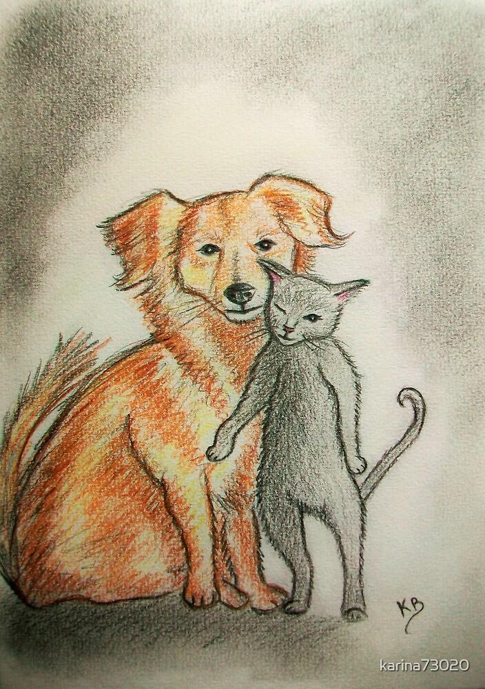 like cat and dog... :) by karina73020