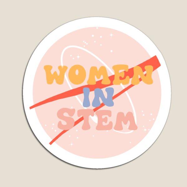 Women In Stem NASA Sticker  Magnet