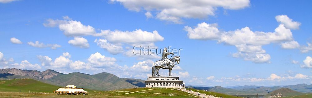 Chinggis Khan Monument by Citisurfer