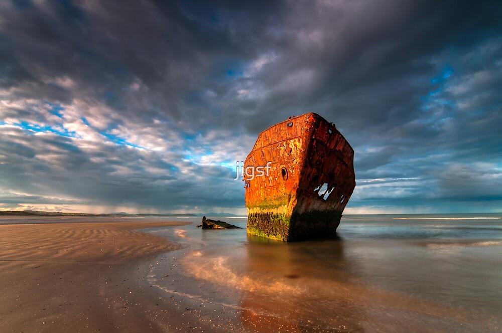 Baltray Wreck by jigsf