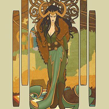 Lady Loki by etoeto