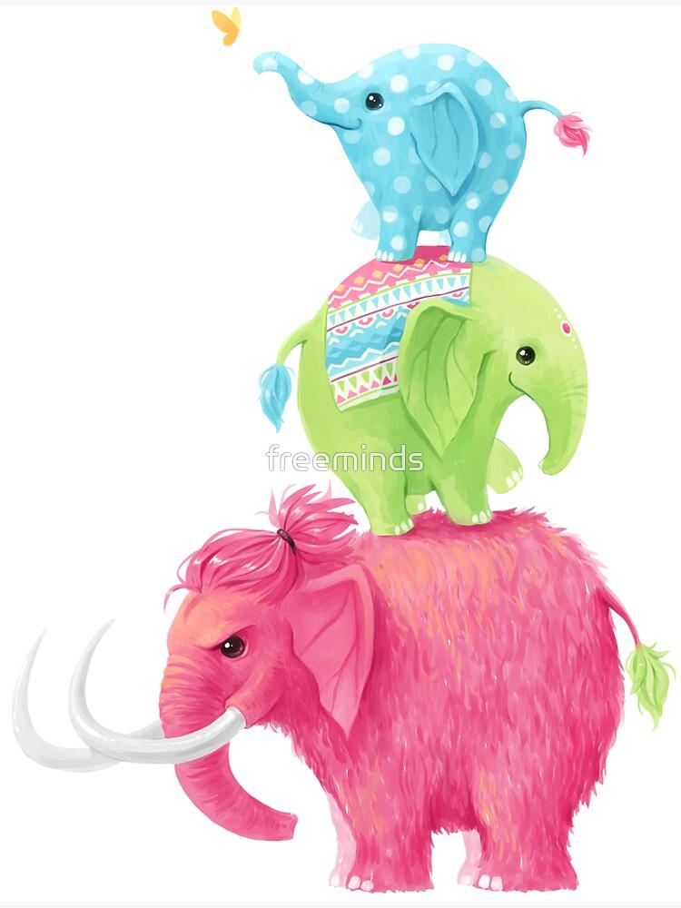Elephants by freeminds