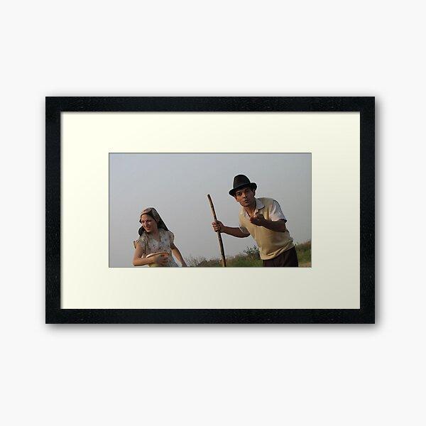 Nina & Marko Framed Art Print