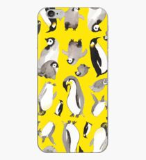Yellow Penguin Potpourri iPhone Case