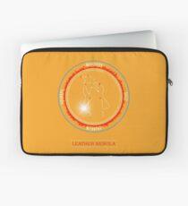 Leather Nebula Laptop Sleeve