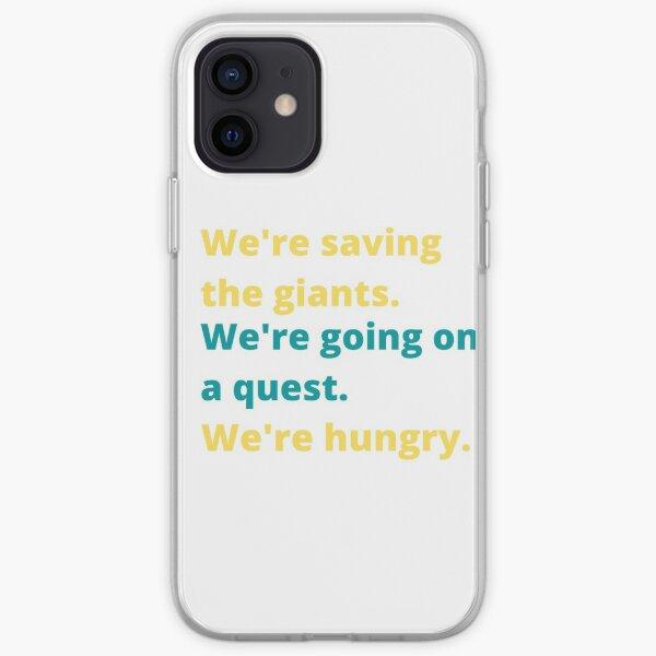 Saving, Going, Hungering iPhone Soft Case