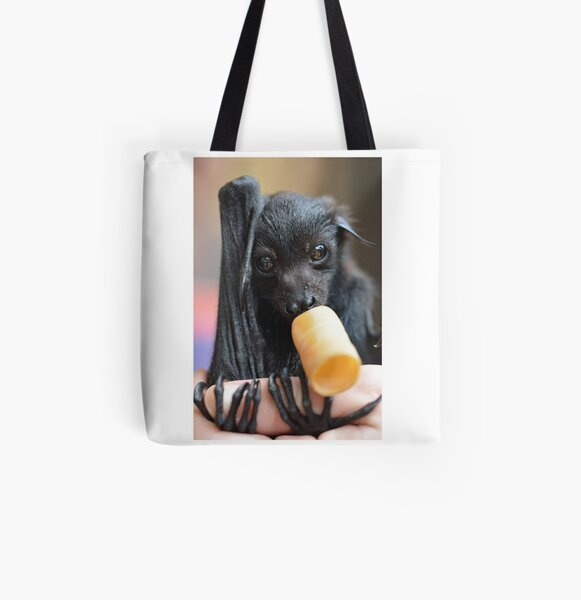 aragog the black flying fox  All Over Print Tote Bag