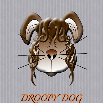 Droopy Dog T-shirt  by artistonline