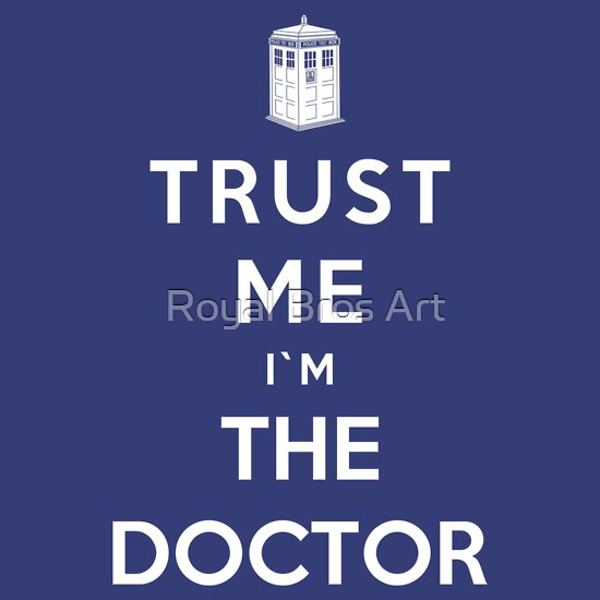 TShirtGifter presents: Trust Me I'm The Doctor