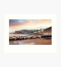 Teignmouth, Devon Art Print