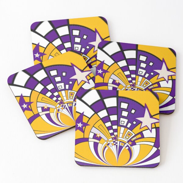 Town Star Coasters (Set of 4)