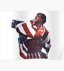 Rocky Balboa - The american dream Poster
