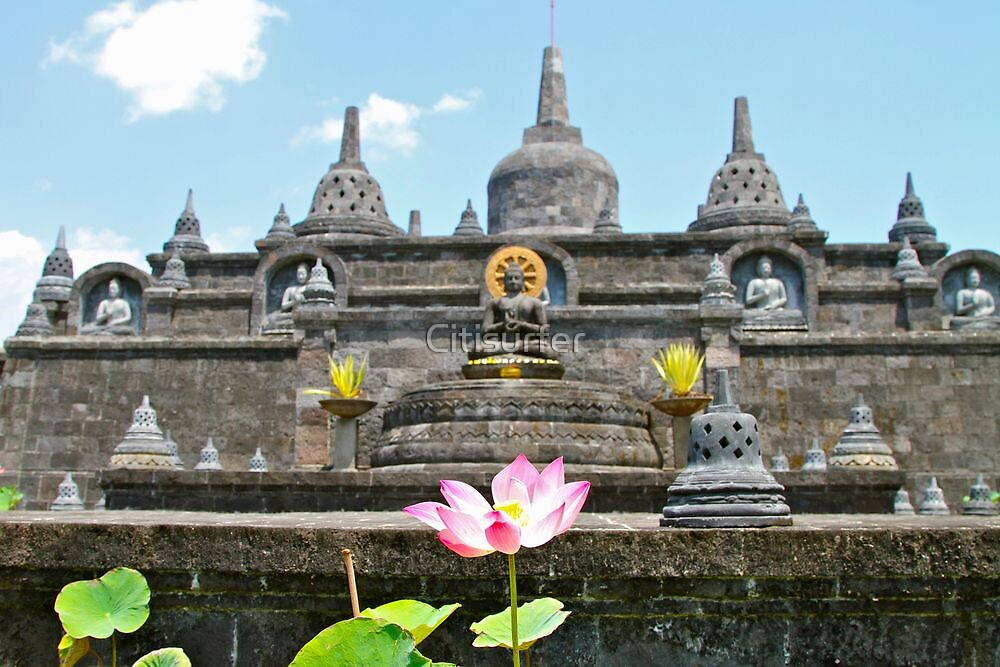 Buddhist Temple in Bali by Citisurfer