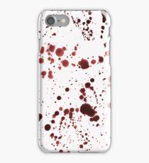 Red Ink Splatter Large iPhone Case/Skin