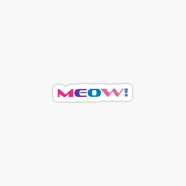 meow! Sticker