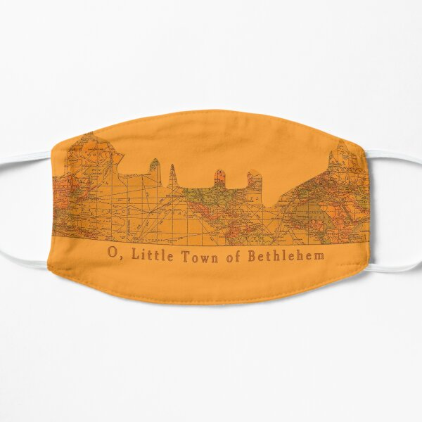 O Little Town of Bethlehem Flat Mask