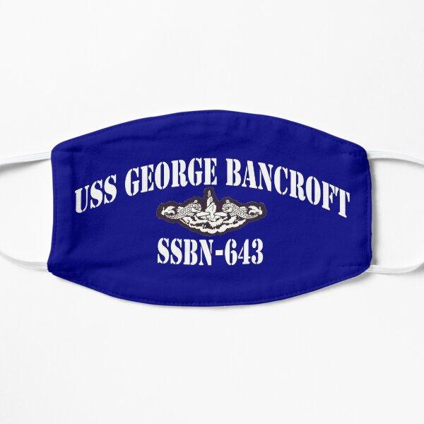 USS GEORGE BANCROFT (SSBN-643) SHIP'S STORE Flat Mask