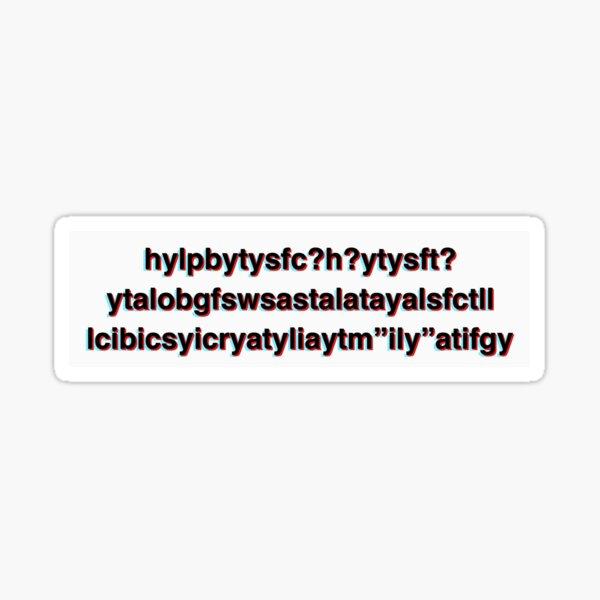 Money Machine Acronym  Sticker