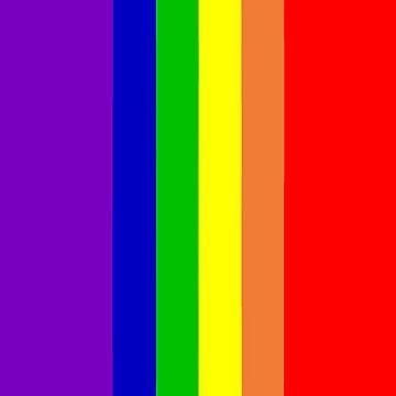 Rainbow Flag by buselikmakami