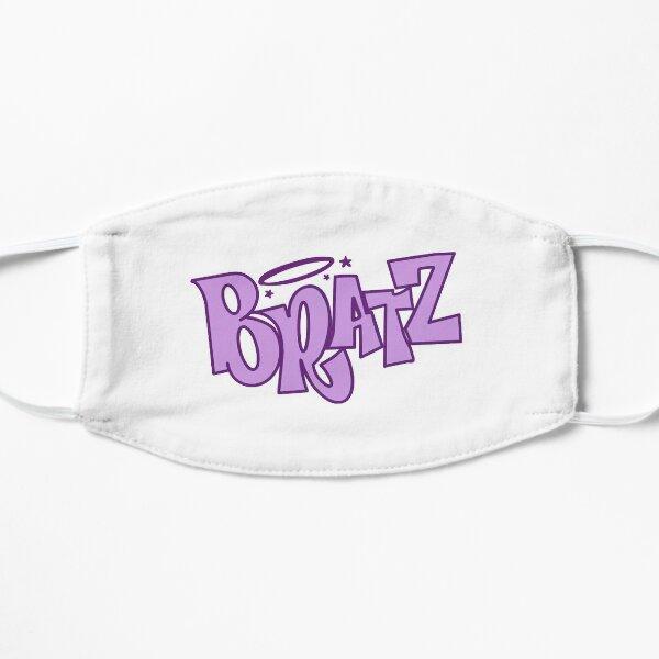 bratz purple logo Flat Mask