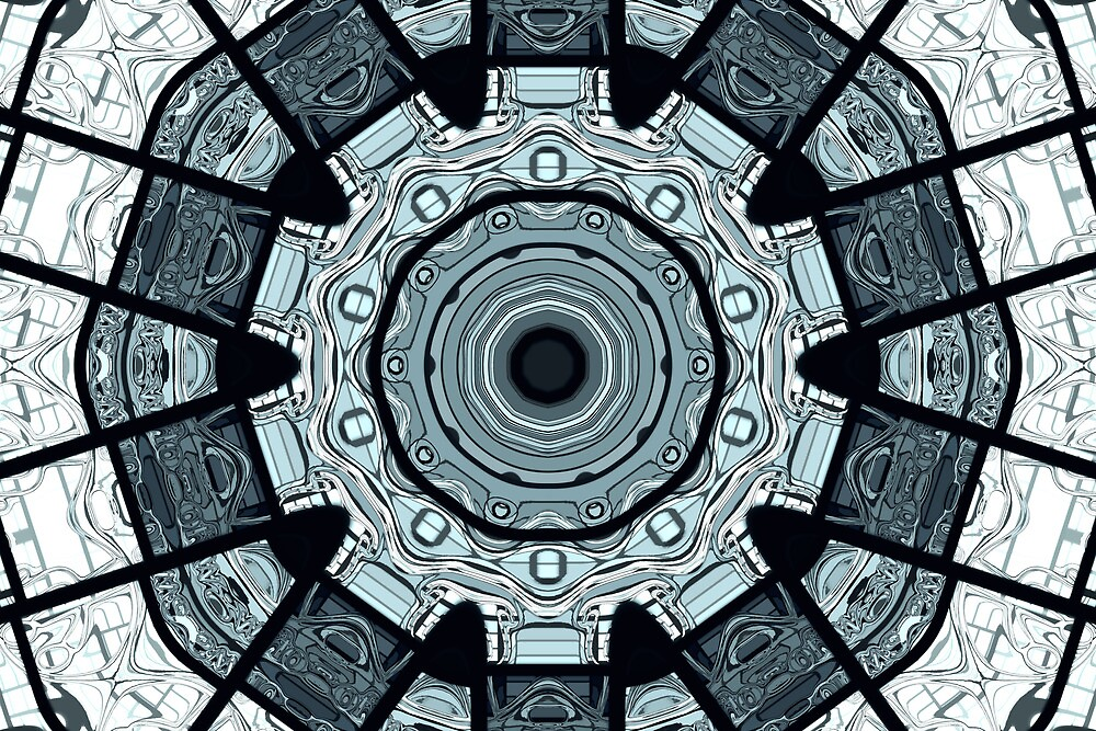 Illustrated Kaleidoscope by pixeljammer
