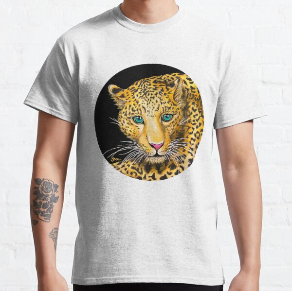Young Leopard - Shee Endangered Retro Animals Classic T-Shirt