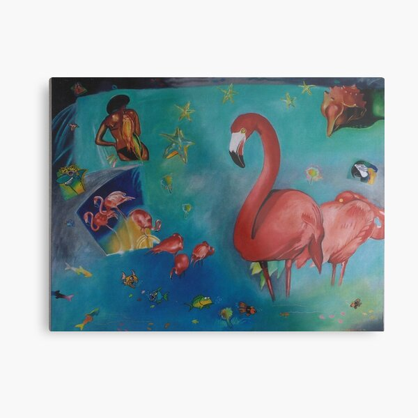 Flamingo Florida  Metal Print