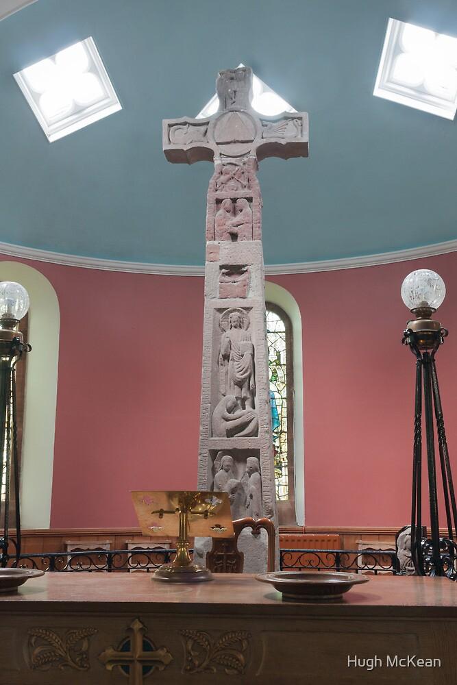 Religious, monument, Ruthwell Runic Cross by Hugh McKean