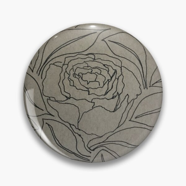 Petals and Leaves Pin