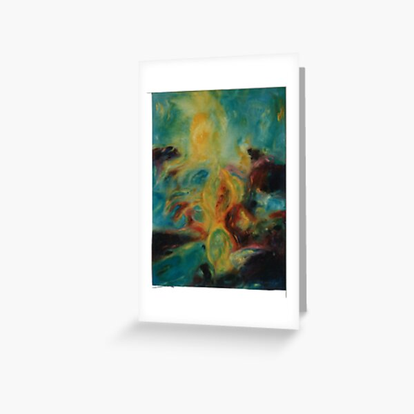 A Light Sea Hourscape Greeting Card