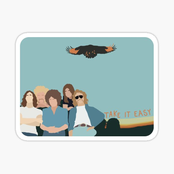 The Eagles  Sticker