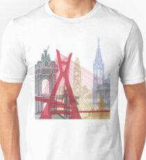 Sao Paulo skyline poster Unisex T-Shirt